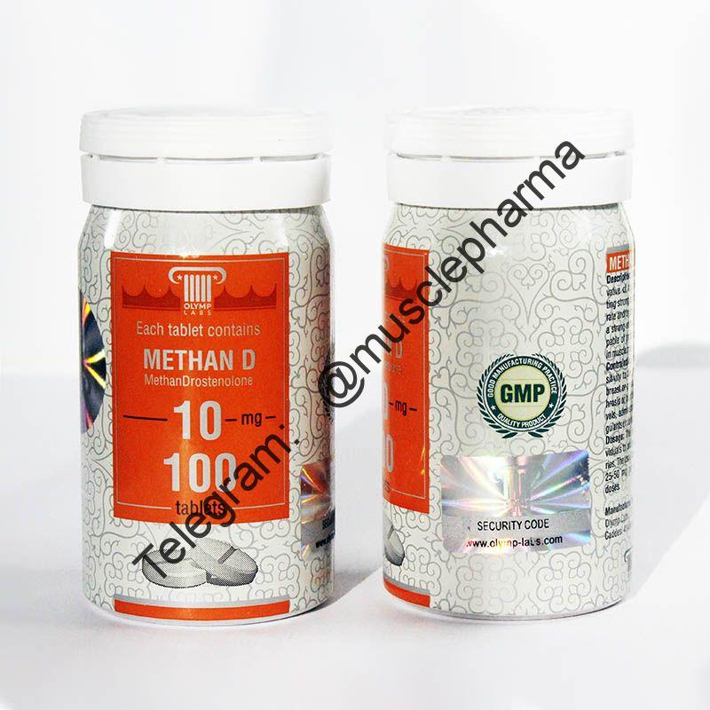 METHAN-D (МЕТАНДИЕНОН). OLYMP. 100 таб. по 10 мг.