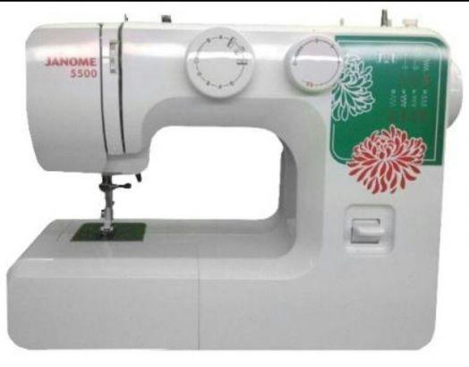 Швейная машина JANOME 5500  /  цена 8900 руб.!(ЦЕНА В РАССРОЧКУ НА 6 МЕСЯЦЕВ, 7 ВЗНОСОВ - 11150 РУБ. ПО 1600 РУБ. В МЕСЯЦ)
