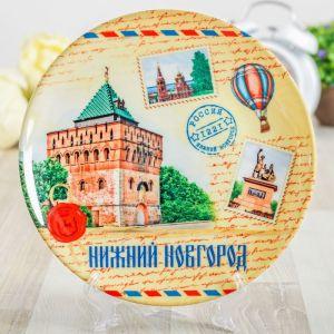 Тарелка декоративная «Нижний Новгород. Почтовая», d=20 см