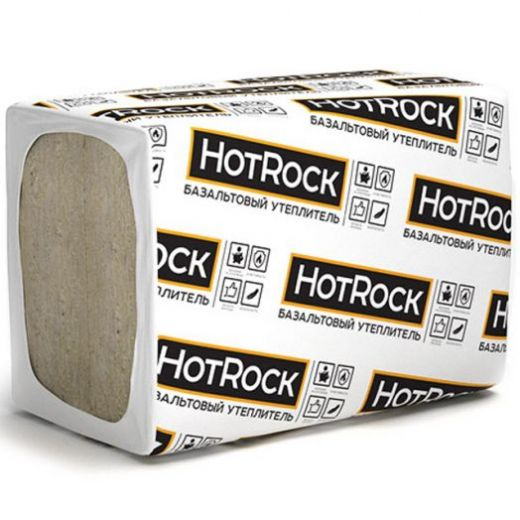 Утеплитель Hotrock Вент Лайт 1200*600*50мм, 4.32м2, 0.216м3, (60 кг/м3)