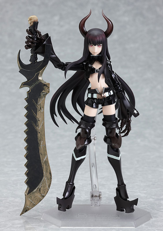 "Чёрно-золотая Пила / figma - Black Gold Saw from ""Black Rock Shooter"""