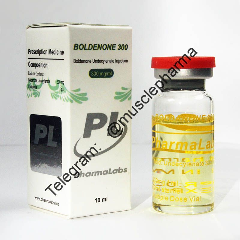 BOLDENONE 300 (БОЛДЕНОН).  PHARMALABS. 1 флакон * 10 мл. !!! 100% ОРИГИНАЛ !!!
