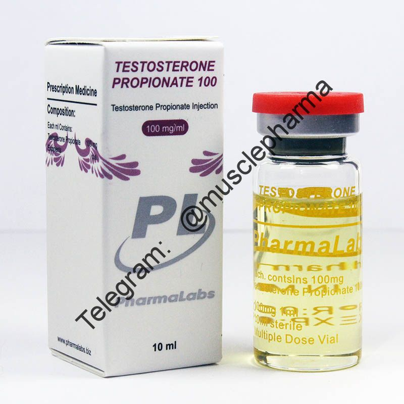 TESTOSTERONE PROPIONATE 100 (ПРОПИОНАТ).  PHARMALABS. 1 флакон * 10 мл. !!! 100% ОРИГИНАЛ !!!