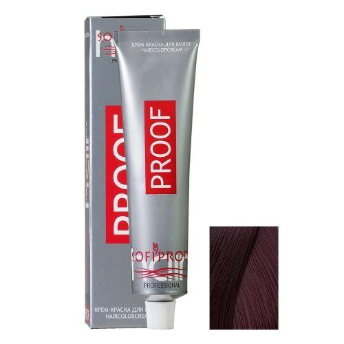 Крем-краска для волос Proof 4.6 шатен бургундский, 60 мл