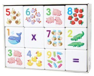 Кубики Арифметика 12 шт