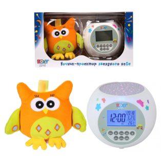 Игрушка-проектор звездного неба OLLY с совой