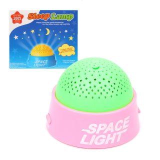Ночник Баюшки, проектор, разноцветная подсветка, в ассорт., элементы питания АА*3шт. не входят в комплект