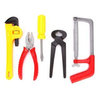 Игр.набор инструментов 5 предметов, пакет