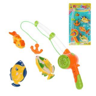 Игровой набор Рыбалка, в компл. 4 предм., свет, звук, эл.пит. AG13*3шт. вх.в компл., блистер
