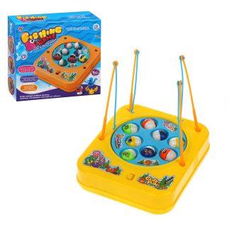 Игровой набор Рыбалка, в компл. 11 предм., звук, эл.пит.АА*2шт. не вх.в компл., блистер