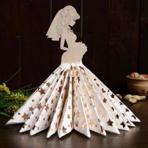 Салфетница «Невеста с букетом», 24?13?0,3 см 4406528