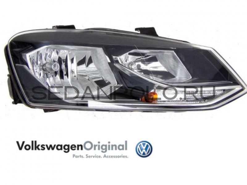 Фара правая VAG Volkswagen Polo Sedan GT (галоген)