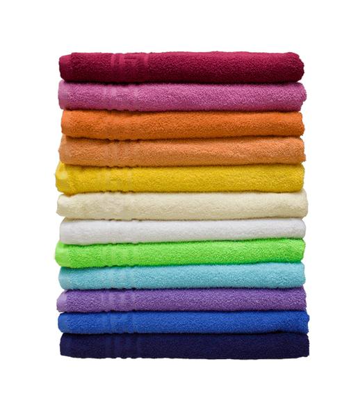 Махровое полотенце гладкокрашеное 70х140
