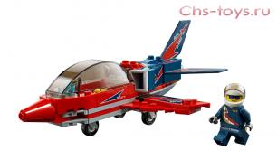 Конструктор BELA Cities Реактивный самолёт 10866 (Аналог LEGO City 60180) 93 дет