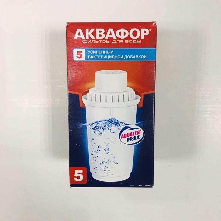 Модуль сменный фильтрующий АКВАФОР В100-5 (с бактерицидным действием), 300л