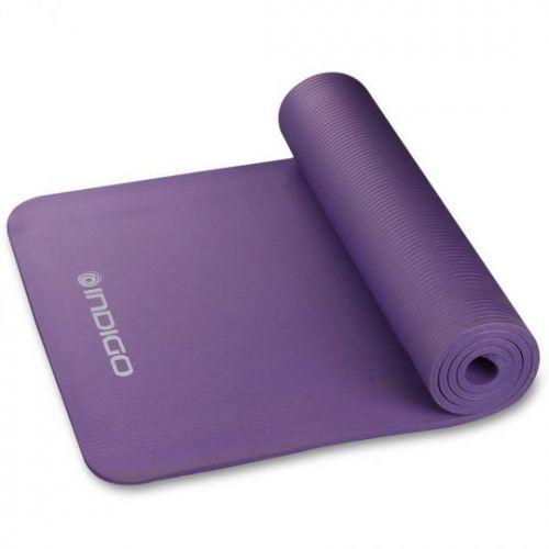 Коврик для гимнастики и фитнеса NBR IN104 Indigo