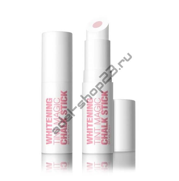 Whitening Tint Magic Chalk Stick SPF 45, PA++ Стик с солнцезащитой для осветления темных участков лица