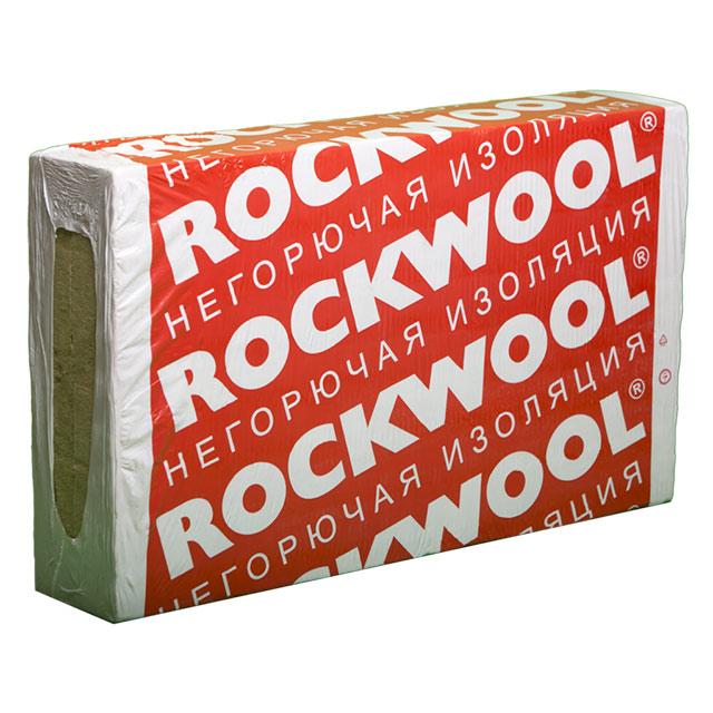 Утеплитель Rockwool Фасад Баттс Д Экстра 1000*600*100мм, 1.80м2, 0.180м3 (170/86 кг/м3, два слоя)