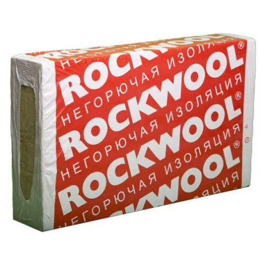 Утеплитель Rockwool Фасад Баттс Экстра 1000*600*50мм, 2.40м2, 0.120м3 (130 кг/м3)