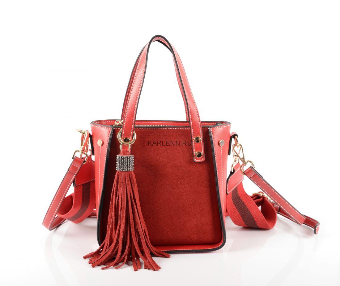 Мини-сумочка KARLENN (красная)