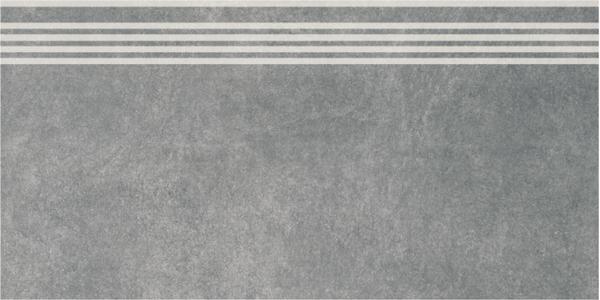 SG614600R/GR   Ступень Королевская дорога серый темный обрезной