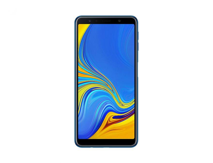 Samsung Galaxy A7 (2018) (синий)