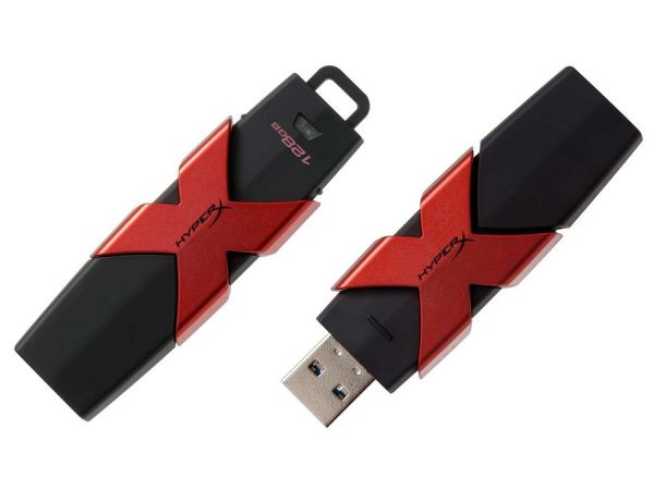 128GB USB3.1 накопитель Kingston DT HyperX Savage  (250/350 MB/s)