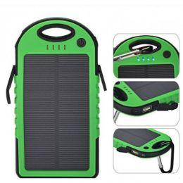 Внешний аккумулятор Power Bank с солнечной батареей