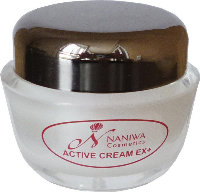 NANIWA Крем для лица Active cream EX+ усовершенствованная формула anti-age крема с липосомальными нанокапсулами для омоложения и оздоровления кожи