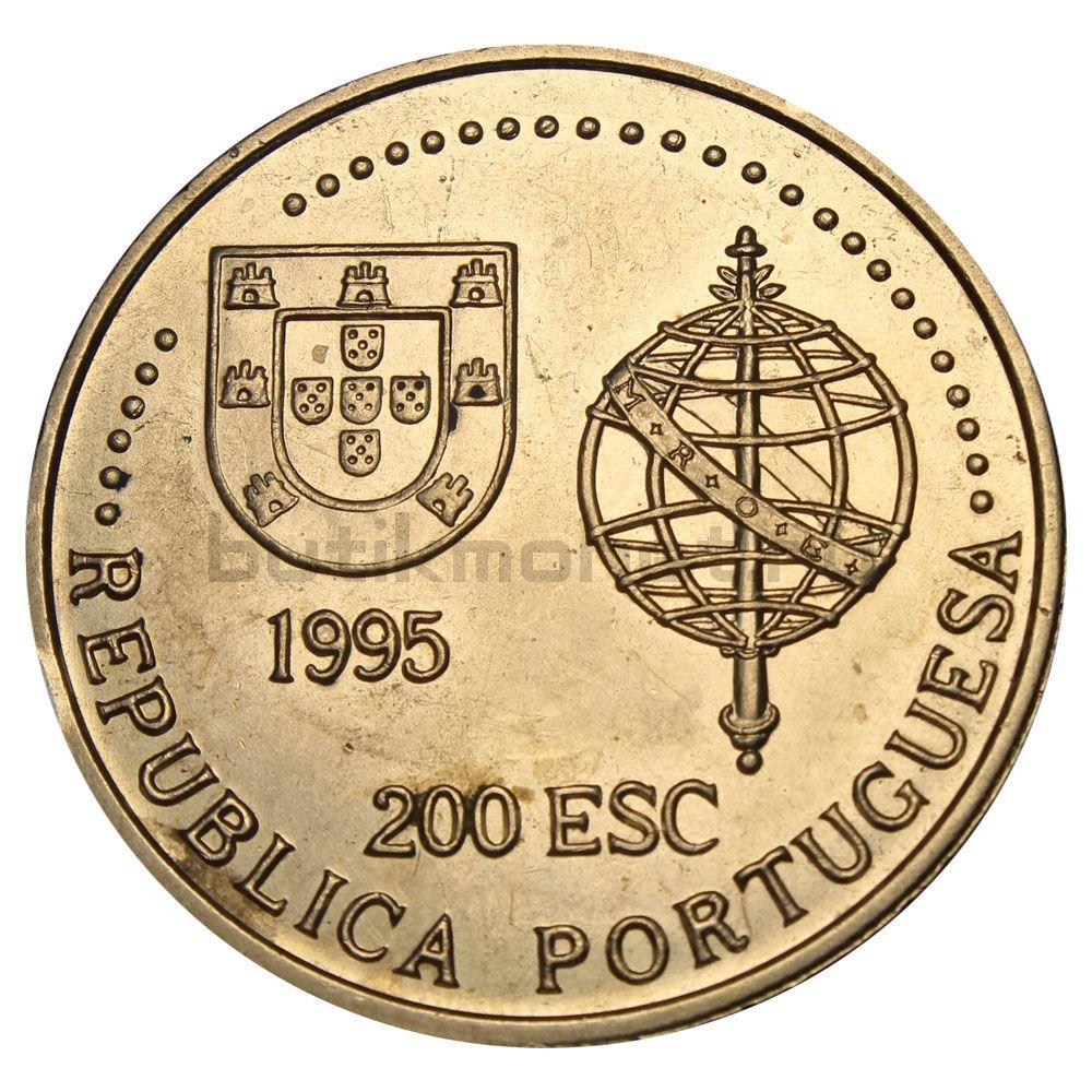 200 эскудо 1995 Португалия Австралия (Золотой век открытий)