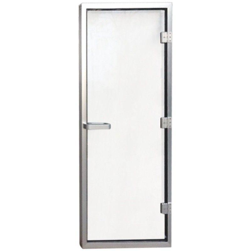 Дверь для хаммама Aquaviva 1890х690 (8мм) нерж. сталь