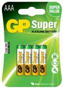 AAA Super Alkaline батарейки (4x24=96)
