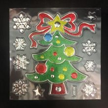 Набор новогодних наклеек Room Decor, Новогодняя елка