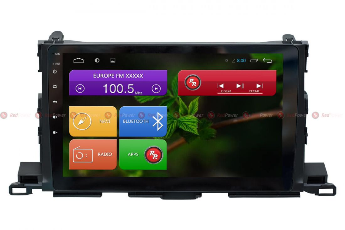 Redpower 31184 R IPS DSP ANDROID 7 Магнитола Toyota Highlander