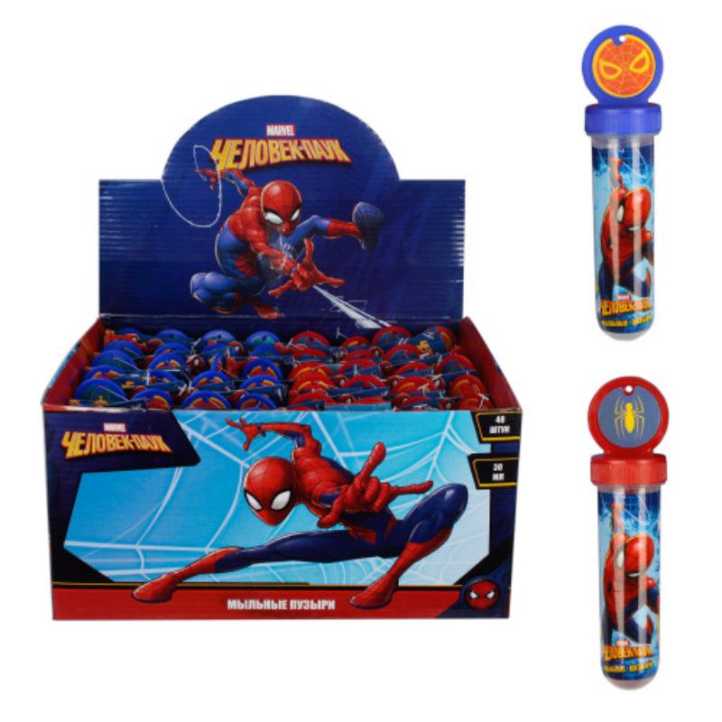 1toy Человек паук, мыльные пузыри