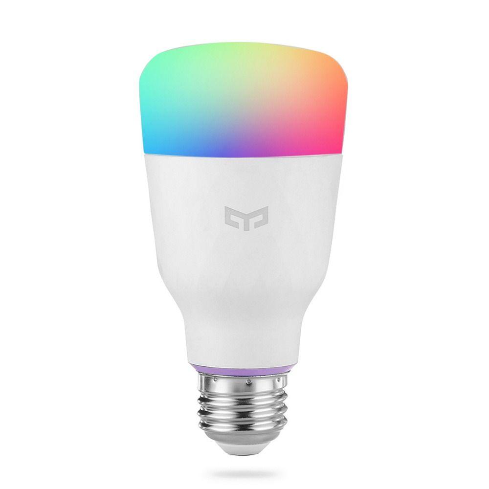 Лампа светодиодная Yeelight Smart LED Bulb Color (YLDP06YL), E27, 10Вт