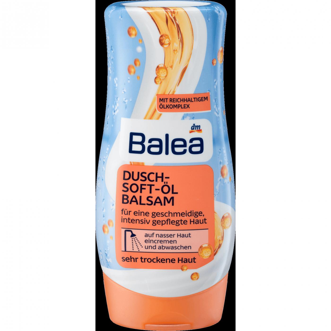 Бальзам - масло -лосьон для душа, Soft Balea