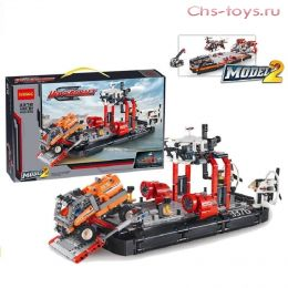 Конструктор Decool Technic Корабль на воздушной подушке 3376 (Аналог LEGO Technic 42076) 1020 дет