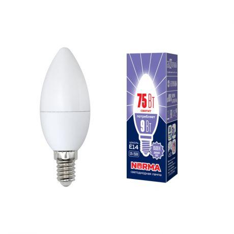 Светодиодная лампа NORMA LED-C37-9W/DW/E14/FR/NR
