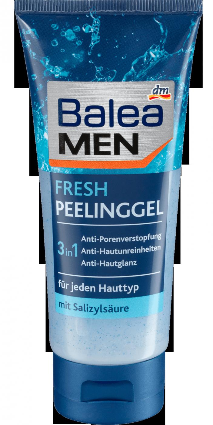 Пилинг – гель для умывания Balea MEN, 100 мл