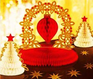 Набор для декорации стола Елка (15шт)