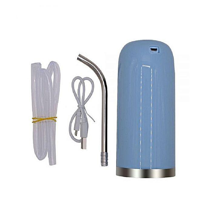Автоматический насос для воды на бутыль с водой Charging Pump C60 голубой