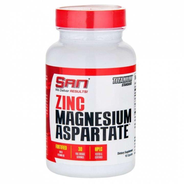 SAN ZMA Zinc Magnesium aspartate