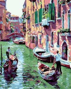 Картина по номерам «Венеция» 40x50 см