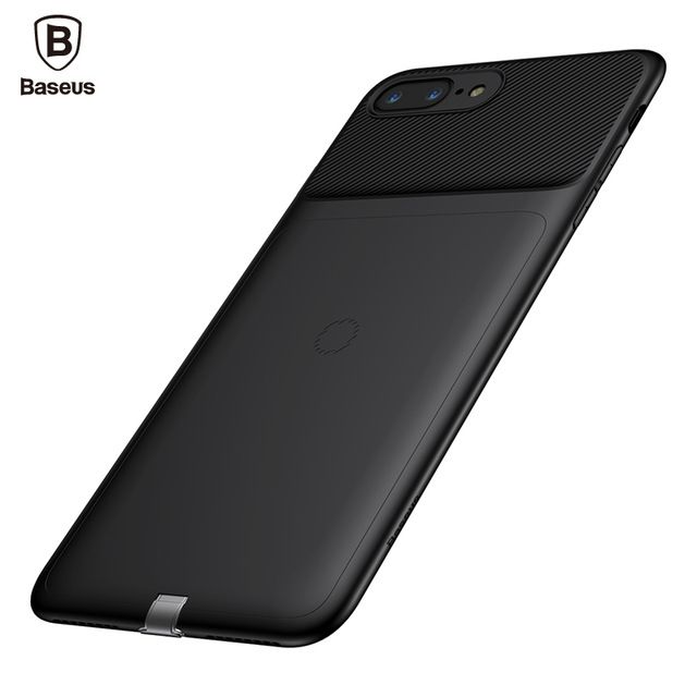 Чехол Baseus Wireless charging receive backclip для iPhone 7 Plus Черный