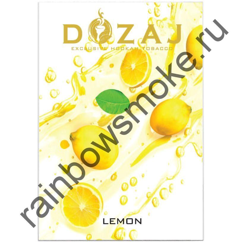 Dozaj 50 гр - Lemon (Лимон)