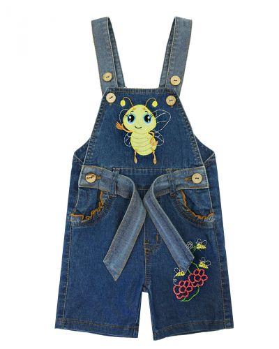 """Полукомбинезон джинсовый для девочек Bonito Jeans """"Bee"""""""