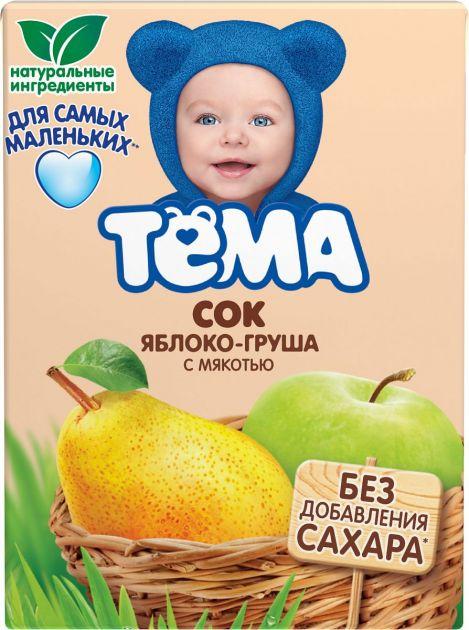 Сок Тема Яблоко-груша