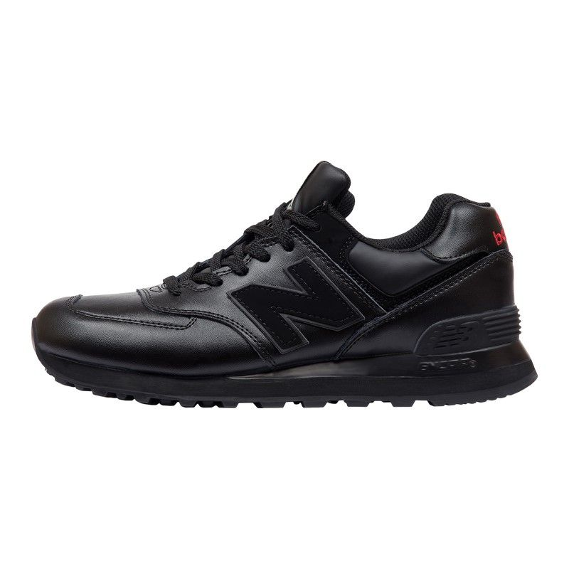 Кроссовки New Balance 574 Leather Black