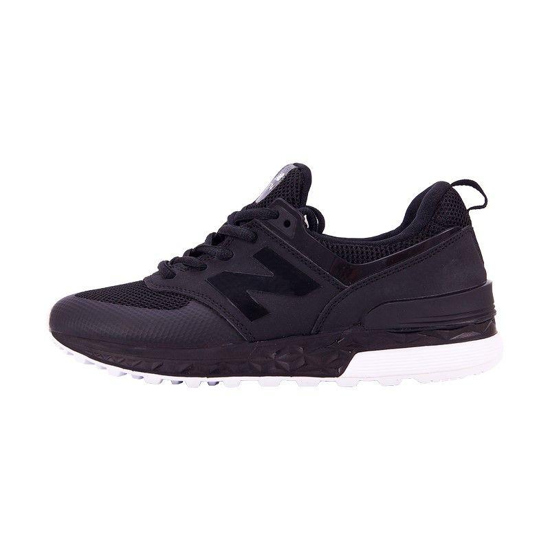 Кроссовки New Balance 574 Sport Black (сетка)